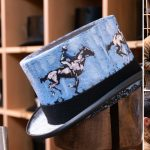 Royal Ascot 2019: Oliver Brown and artist Freddy Paske in exciting top hat collaboration