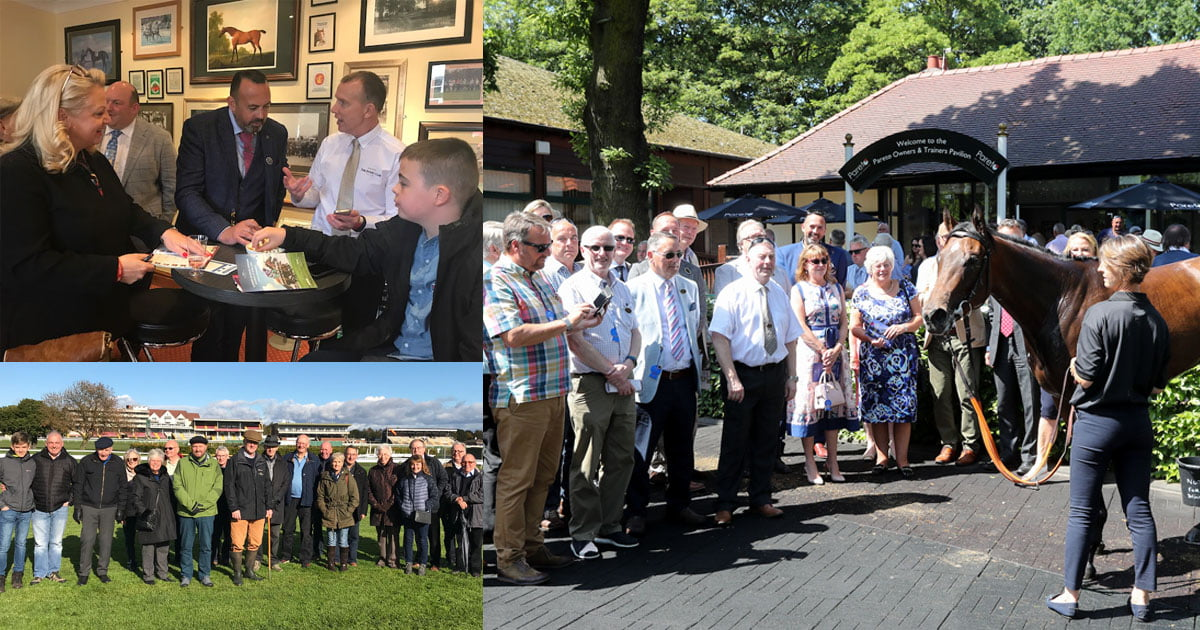 Join Haydock Park Racing Club for exclusive benefits and a taste of racehorse ownership