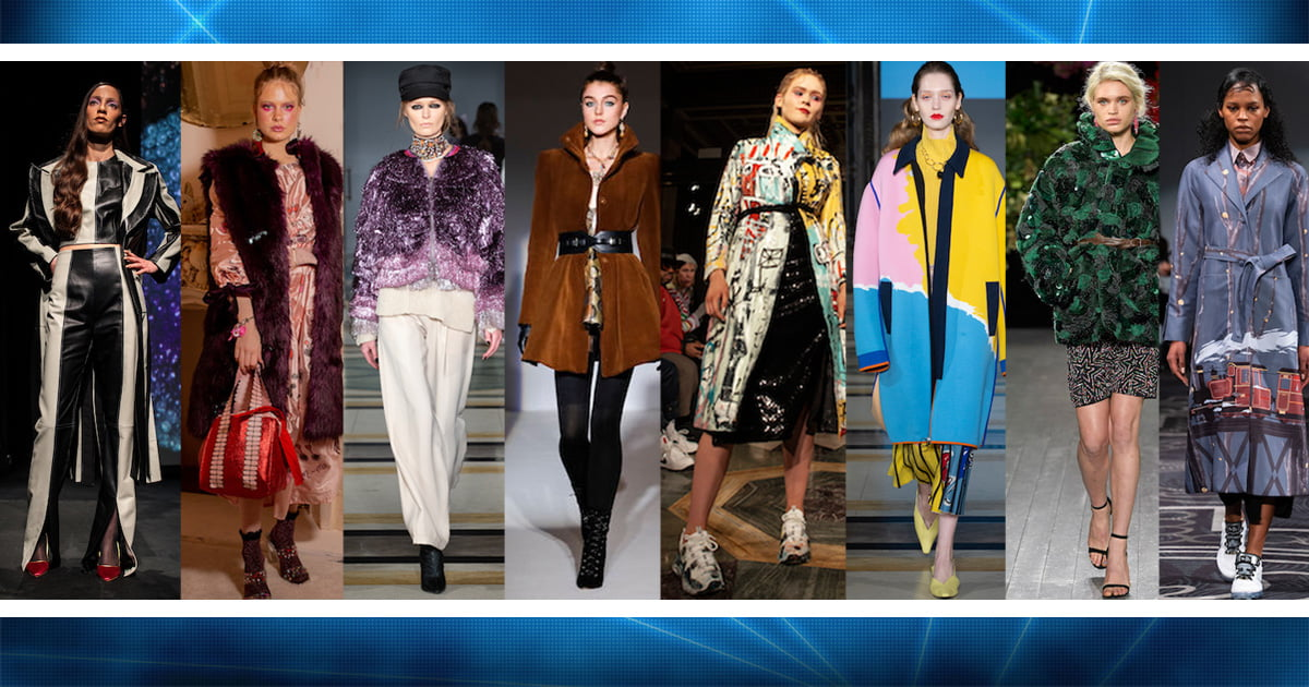 Statement coats from London Fashion Week AW19