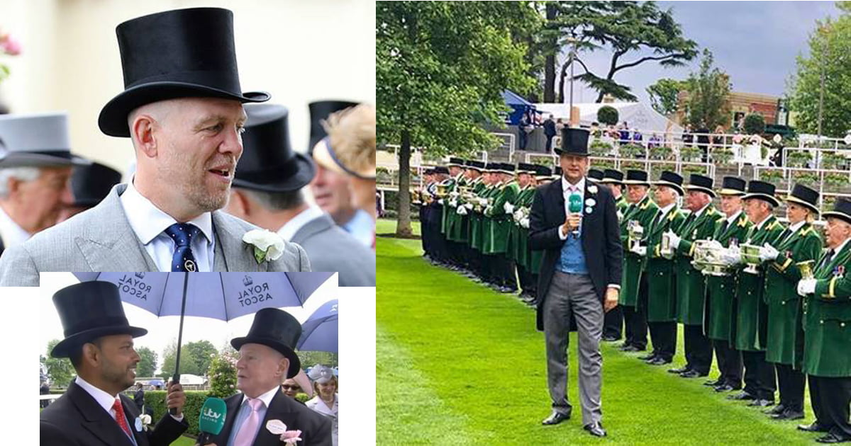 Royal Ascot 2019: Oliver Brown Top Hats out in force