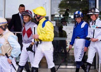 RG Epsom Derby 2019_jockeys for the first race