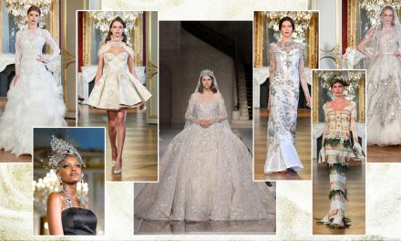 Winter Wedding Belles at Paris Haute Couture AW19