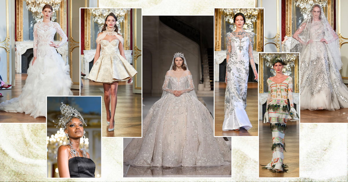 Winter Wedding Belles at Paris Haute Couture AW19