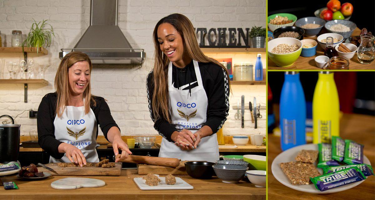 Hayley Turner and Katarina Johnson-Thompson get Baking for British Champions Day