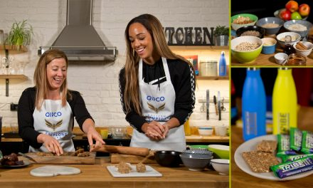 Hayley Turner and Katarina Johnson-Thompson get Baking for British Champions Day