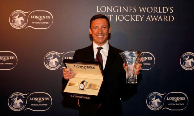 Frankie is World's Best Jockey – AGAIN!