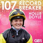 Hollie Doyle sets new British record
