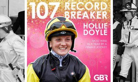Hollie Doyle sets new British record